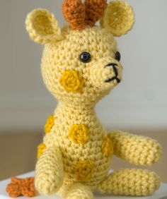 "Free pattern for ""Little Crochet Giraffe""!"