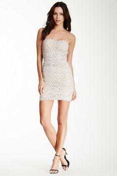 Cutout Back Strapless Dress by Freeway on @HauteLook