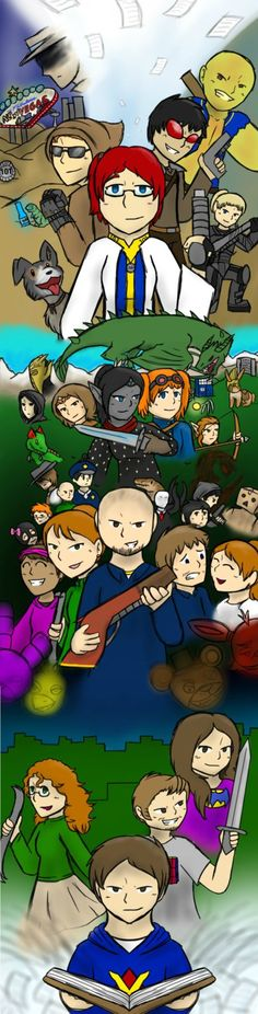 Venturian's Tales by nexter2nd  I LOVE THIS SOOOO MUCH!!!