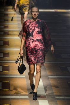 Pin for Later: Pretty in Prints: The Most Wow-Worthy Patterns to Hit the Runway Lanvin Spring 2015