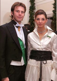 Italian Families | Italian Royal Couple - Prince Emmanuel Philibert and Princess Clotilde ...