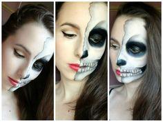 Maquillaje de mascara para Halloween