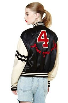 Moschino Your Eyes Only Jacket
