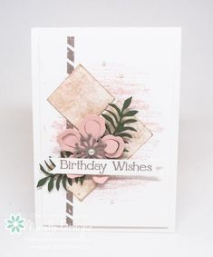 Botanical Builder thinlits, Timeless Textures, Butterfly Basics, Stampin Up