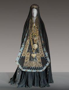 Costume designed by Piero Tosi for Maria Callas in Medea (1969)