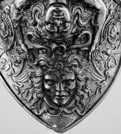 Filippo Negroli, Renaissance sculptor. Helmet. Source: ruebella on tumblr.