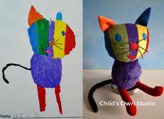 Jouets, assemblées par des dessins d'enfants. Discussion sur LiveInternet - service russe Diaries en ligne