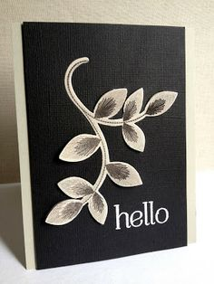 I'm in Haven: Three Embroidered Blooms Cards