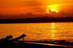Sunset in Pulau Palambak, Indonesia