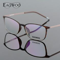 41e40171667a EAGWOO EMS Pure Titanium Eyeglasses Girl Boy Sports Full Rim Optical Frame  Prescription Spectacle Brown Myopia