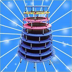 Toujours plus de trampolines ! Du mini au plus grand, il y en a pour toutes les envies. En veux-tu, en voilà !