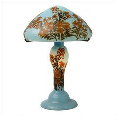 Image detail for -Galle Art Nouveau Flowers Table Lamp