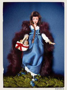 Caperucita OOAK Barbie Doll