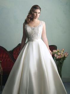 Vestidos de noiva para mulheres gordinhas nas colecções de 2016. Tenha orgulho das suas curvas! Image: 11