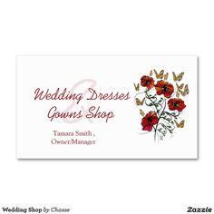 Wedding Shop Business Card
