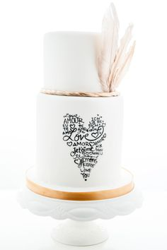 This is the most popular #weddingcake in our 2014 collection - do you agree? #customcake #fondantcake