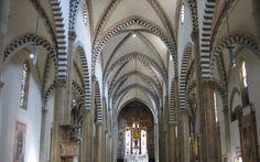 Santa Maria Novella - Church and Cloisters - Florence. Неф.