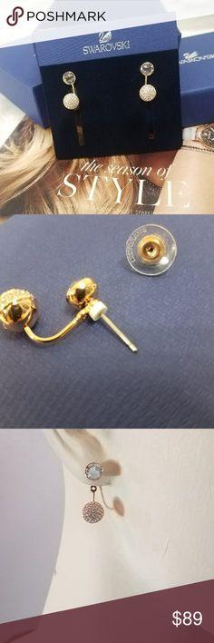 1 hr. Discount shipSWARVOSKI EARRINGS Brand new with tags  Retails $99 Swarovski Jewelry Earrings