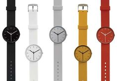 Uniform Ware Watches Are Stunning and Simple trendhunter.com