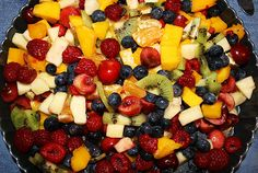 Trisha Yearwood's Hawaiian Fruit Salad with Honey Lime and Ginger Dressing