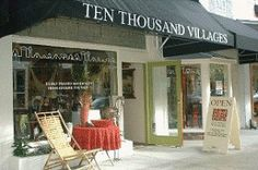 Ten Thousand Villages in Winter Park  Visit here during the Winter Park Art Festival located on Park Avenue.