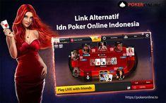 Link Alternatif Idn Poker Online Indonesia Pokeronline agen judi poker online terbaik indonesia. #pokeronline #idnpokeronlinesia Online Casino Games, Online Gambling, Gambling Sites, Casino Hotel, Hard Rock Hotel, Mandalay, Video Poker Games, Sport Videos, World Series Of Poker