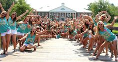 WELCOME to ΑΞΔ ❤hey its my chapter!!! and my bid day last year!!
