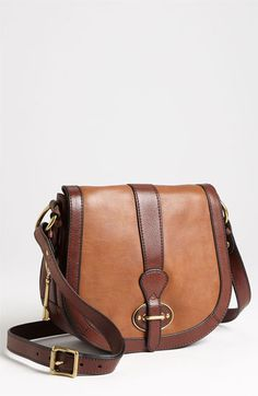 Fossil 'Vintage Re-Issue' Crossbody Bag available at Nordstrom Fossil Handbags, Fall Handbags, Burberry Handbags, Fashion Handbags, Mcm Purse, Cheap Burberry, Classic Handbags, Saddle Bags, Leather Bag
