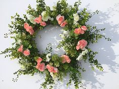 wedding wreath spring wreath wedding decor wreath for