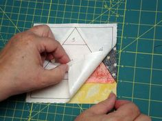 paper piecing tutoral