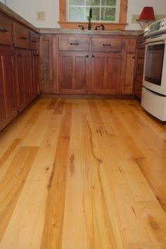 Maple Is A Popular Wood Floor For Kitchens And Other High Traffic Rooms  Because It
