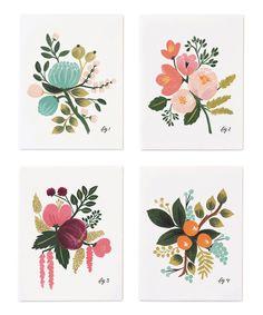 Botanical Card Set//