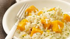 Butternut squash risotto:  I first tasted a risotto similar to this one in South Africa and though at first the idea of adding vanilla to a savory dish sounded a bit odd, I found the flavor combination irresistible. The vanilla adds a lovely aromatic finish but not a lot of sweetness. I consider this the perfect fall dish.