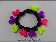 Loom Bands ohne Rainbow Loom Anleitung Deutsch A 37