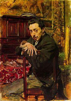 Giovanni Boldini - Ritratto del Pittore Joaquin Araujo Ruano