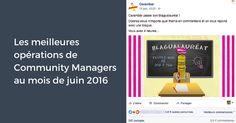 Que s'est-il passé en juin sur les réseaux sociaux? Entre le baccalauréat, le lancement de l'Euro 2016 et la saison des festivals, ce mois a été synonyme d'humour, de sport et d'amitié. De nombreuses campagnes ludiques et de multiples opérations participatives ont vu le jour pour fêter l'arrivée des beaux jours, avec leur lot d'événements