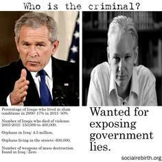 Assange - Don´t Shoot The Messenger - Wikileaks  This isn't political, this is Human Rights. Needlessly, people died and suffered.