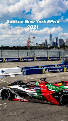 Audi, Race Car Party, Formula E, Sports Car Racing, The New Yorker, Concept Cars, New York City, New York, Nyc