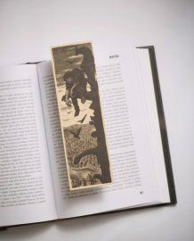 The Hunchback of Notre-Dame Bookmark by Bookmarklovers on Etsy Classic Literature, Silk Screen Printing, Middle Ages, Bookmarks, Notre Dame, Origami, Romantic, Boho, Handmade Gifts