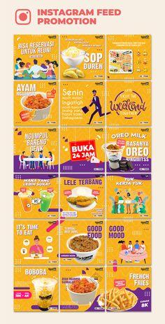 Instagram Feed Planner, Instagram Feed Ideas Posts, Instagram Feed Layout, Feeds Instagram, Instagram Design, Food Graphic Design, Food Poster Design, Graphic Design Posters, Food Design