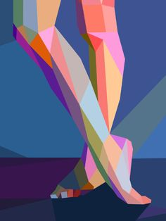 digital art by charis tsevis for the yahoo london 2012 olympic games coverage