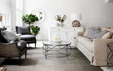 10 of the best furniture stores in Sydney Freedom Furniture, Furniture For You, Furniture Styles, Cheap Furniture, Furniture Making, Bedroom Furniture, Furniture Design, Country Style Furniture, Grey Armchair