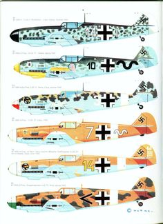 S06 Luftwaffe Colour & Markings 1935-1945 Vol. 1 Page 28-960