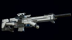 ArtStation - Sci-Fi Sniper Rifle, Rafał Piórkowski