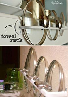 Ways to organise and declutter your kitchen? 21 DIY kitchen organisation ideas that are simply genius! You will love the creativity of these time, space and money saving kitchen organisation hacks.