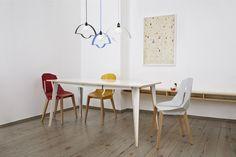 Products NOWA STOŁOWA - lamp MACIEK - table DIAGO - chair