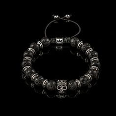 Brățară Skulls – King's Lava Chest Lava, Pandora Charms, Skull, Charmed, Bracelets, Collection, Jewelry, Products, Jewlery