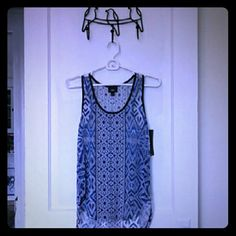 Nwt Mossimo sheer racer back tank top Brand new Mossimo tank top. Has not been worn other than to try on. Mossimo Supply Co. Tops Tank Tops
