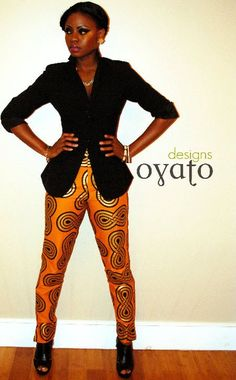 Ankara. {Those. PANTS. Love the explosion of color paired with neutral jacket and accessories.}