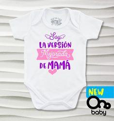 a0a21055a Bodys o mamelucos para bebé con diseños hermosos para mamá y papá que te  harán feliz